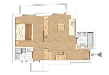 Family Suite Hotel plan