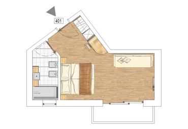 Junior Suite Camocina plan