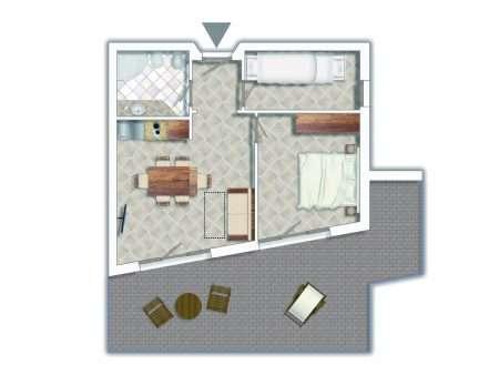 3-pokojowy Comfort - plan