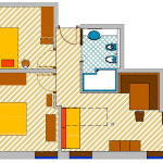 Apartament Suite 3-5 osobowy