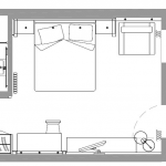 Junior Suite Abete - plan