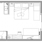 Junior Suite Cirmolo - plan
