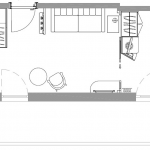 Junior Suite Fiemme - plan 1