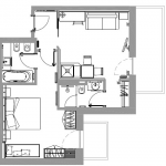 Suite Dolomiti Wellness - plan 2