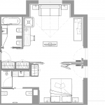 Suite Panorama Lagorai - plan