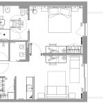 Suite Paradiso Benessere - plan