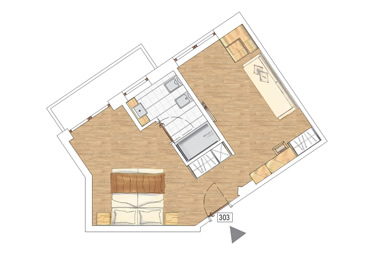 Suite Hotel plan
