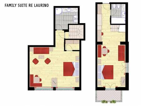 Family Suite Re Laurino
