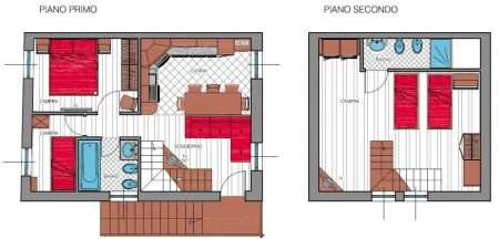 Apartament numer 1 - plan