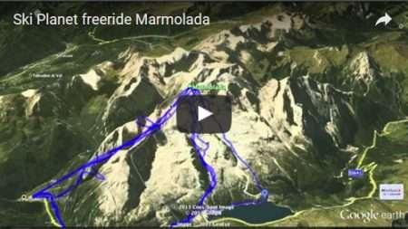 Freeride Marmolada