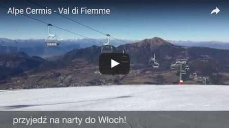 Alpe Cermis w Val di Fiemme