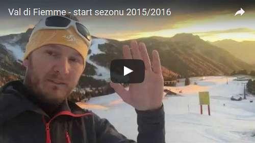 Otwarcie sezonu w Val di Fiemme 2015/2016
