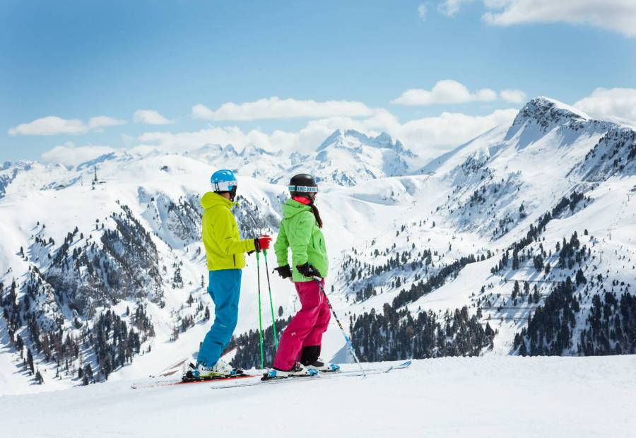 Warunki pogodowe w Alpach