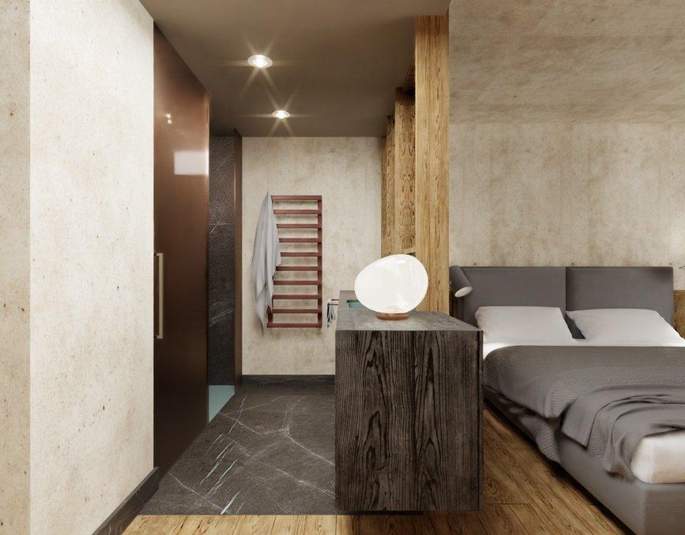 Ciampedie - pokój Junior Suite Cima Dodici