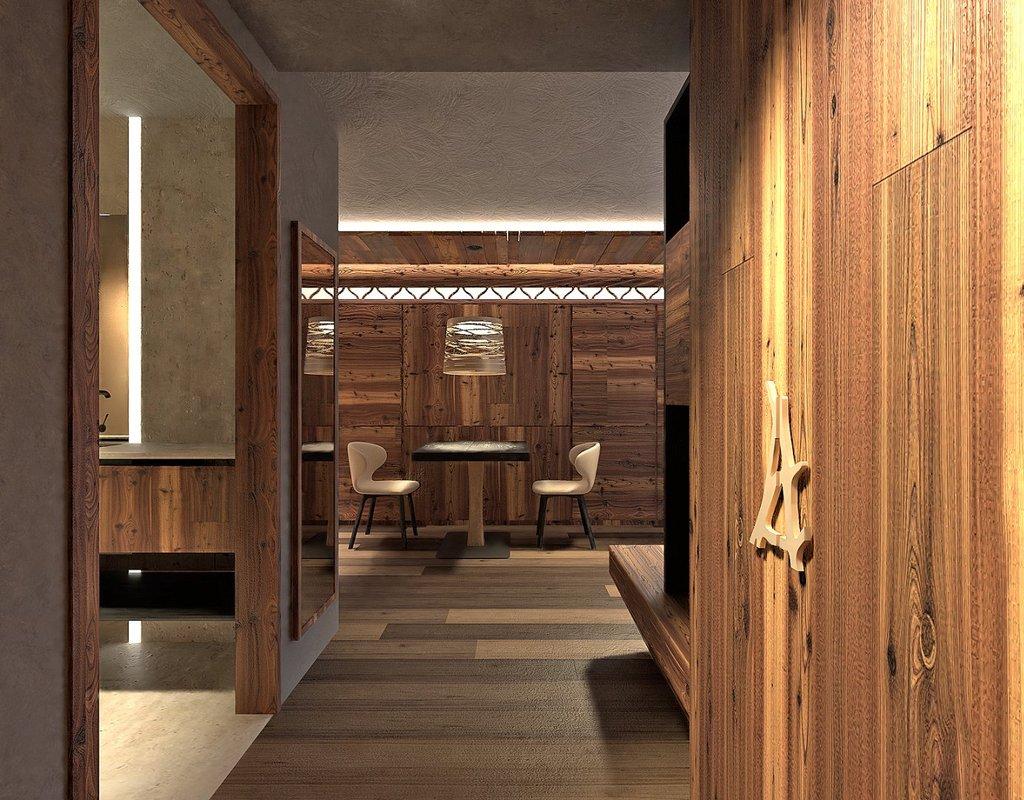 Ciampedie - pokój Junior Suite Sassolungo